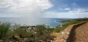 Aussicht von der Festung in Cidade Velha