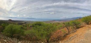 Aussicht vom Cova Krater auf Porto Novo