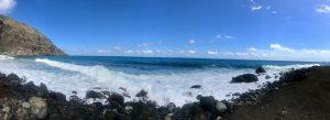 Meer im Paul Tal zwischen Ribeira Grande und Janela
